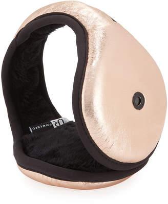 URBAN RESEARCH Leather Behind the Head Bluetooth Earmuffs