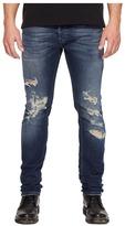 Just Cavalli Super Slim Fit Destroyed Jeans Men's Jeans