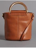 Autograph Pure Leather Shoulder Bag