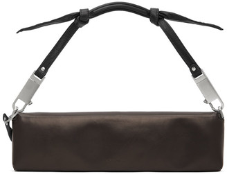 Rick Owens Brown Demi Quiver Clutch