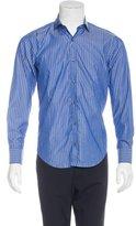 Simon Spurr Striped Woven Shirt w/ Tags
