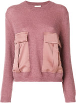 Semi-Couture Semicouture - Semicouture Isa jumper - women - Polyamide/Polyester/Mohair/Wool - S