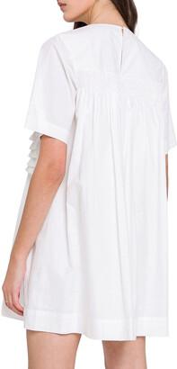 ENGLISH FACTORY Ruffle Mini T-Shirt Dress