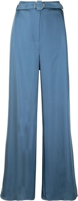 Sally LaPointe Silky Twill Trousers