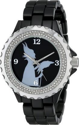 Disney Women's W001797 Maleficent Watch Analog Display Analog Quartz Black Watch