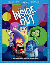 Disney PIXAR Inside Out Blu-ray Combo Pack