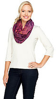 Collection XIIX As Is Collection 18 Tranquil Scales Woven Infinity Scarf