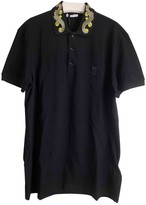 Versace Black Cotton Polo shirts