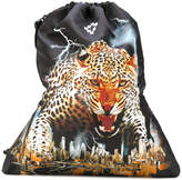 Marcelo Burlon County of Milan leopard and city print gym sac
