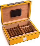 Bey-Berk Bey Berk Carbon Fiber Lacquered Cigar Humidor