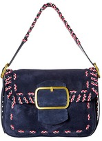 Tory Burch Sawyer Stitch Shoulder Bag Shoulder Handbags
