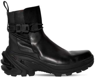 Alyx LOW LEATHER BUCKLE BOOT WITH FIXED SOLE