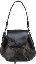 Y's thick flap pochette bag