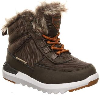 BearPaw Mokelumne Faux Fur Lined Hiking Boot