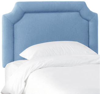 One Kings Lane Morgan Kids' Headboard - French Blue Linen - Twin
