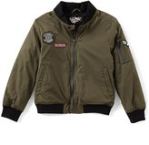 First Wave Big Boys 8-20 Patch Bomber Jacket