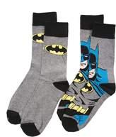 TruffleShuffle Mens 2pk DC Comics Batman Socks