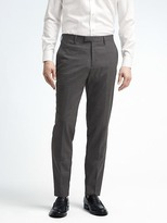 Banana Republic Slim Solid Performance Stretch Wool Dress Pant