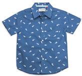Sovereign Code Boys 2-7 Whale-Print Woven Shirt