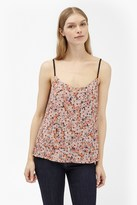 French Connection Bacongo Daisy Printed Strappy Top