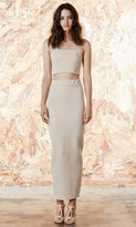 Again Collection - Angie Maxi Skirt in Neutral
