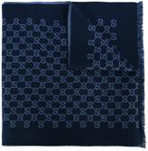 Gucci GG Supreme pattern scarf - men - Wool - One Size