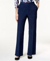 Alfred Dunner Petite Uptown Girl Pull-On Straight-Leg Jeans