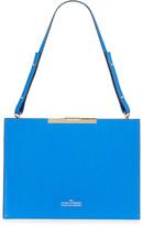 Rokh File C Leather Box Shoulder Bag