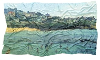 Urban Fable Bronte Beach Merino Wool & Silk Blend Scarf