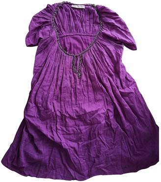Gat Rimon Purple Cotton Dresses