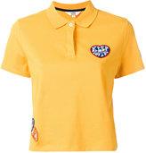 Tommy Hilfiger patch detail polo shirt - women - Cotton/Spandex/Elastane - L