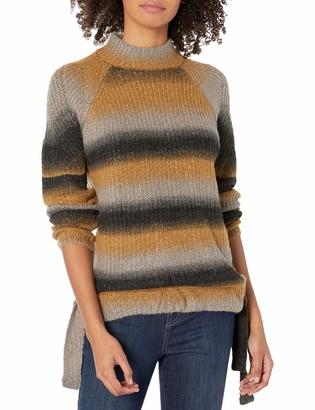 Kensie Women's Fuzzy Ombre Sweater