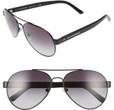 Burberry Women's 59Mm Aviator Sunglasses - Gold