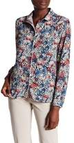 Paul & Joe Sister Blue Cat Floral Blouse