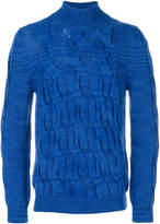 Missoni knit turtleneck jumper