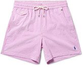 Polo Ralph Lauren Slim-Fit Mid-Length Striped Cotton-Blend Seersucker Swim Shorts