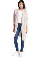 Gap Textured lapel cardigan