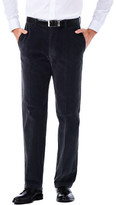 Haggar Stretch Corduroy - Classic Fit, Flat Front, Hidden Expandable Waistband