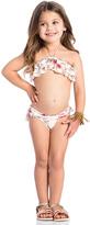 Zimmermann Eden Frill Bandeau Bikini Set