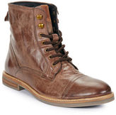Ben Sherman Luke Lace-Up Leather Boots