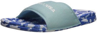 DC Bolsa Womens SP Slide Sandal Light Blue 6 B US