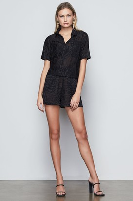 Good American Lush Embroidered Short
