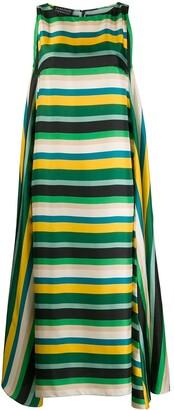 Gianluca Capannolo Ruth striped maxi dress