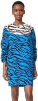 Kenzo Tiger Stripes Sweatshirt Dress
