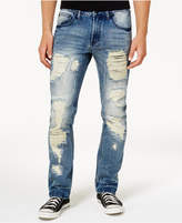 INC International Concepts Men's Mega-Ripped Slim-Fit Jeans, Created for Macy's