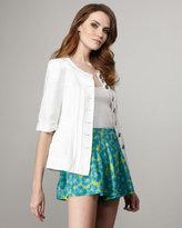 Nanette Lepore Shoo-In Floral-Printed Shorts