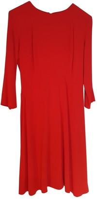 Sandro Spring Summer 2018 Red Cotton - elasthane Dress for Women