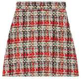 Gucci Multicolor tweed A-line skirt