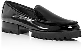 Donald J Pliner Women's Elen Patent Leather Platform Loafers
