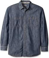 Pendleton Men's Long Sleeve Classic-Fit Denim Shirt